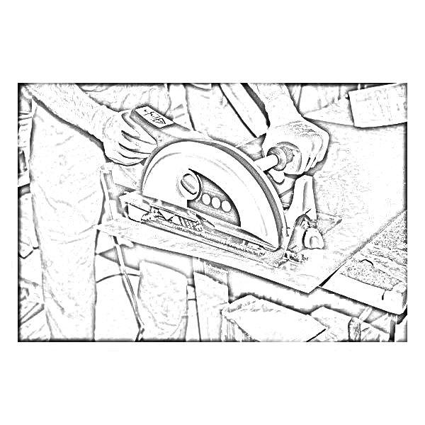 ferastraie circulare manuale