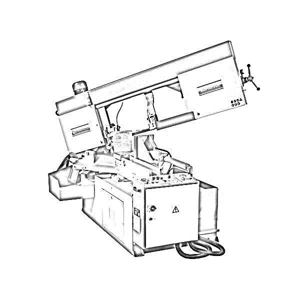 ferastraie semi-automate cu banda bimetalica