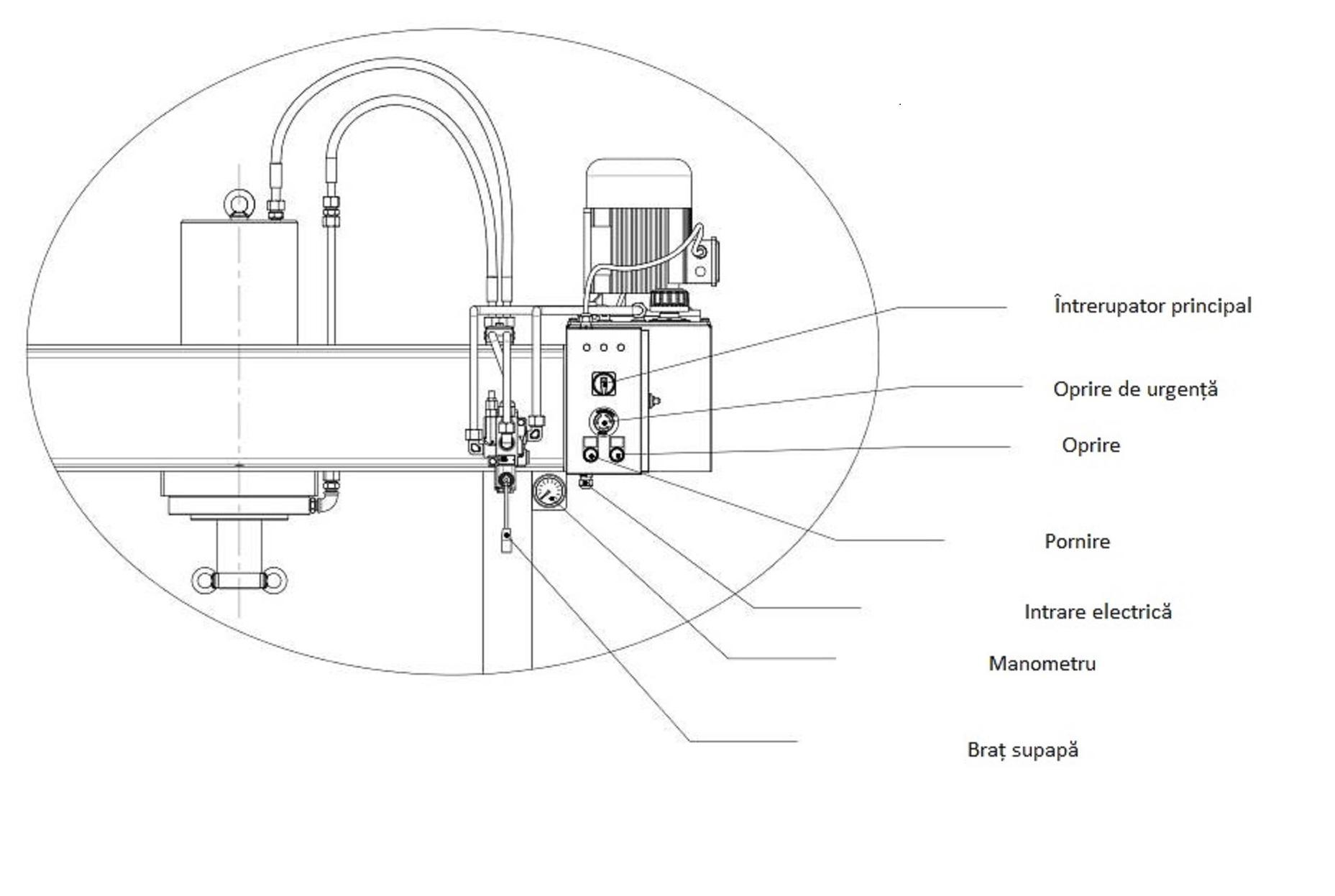 presa hidraulica BHP 250