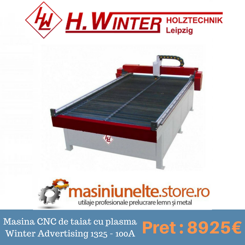 Masina CNC de taiat cu plasma Winter Advertising