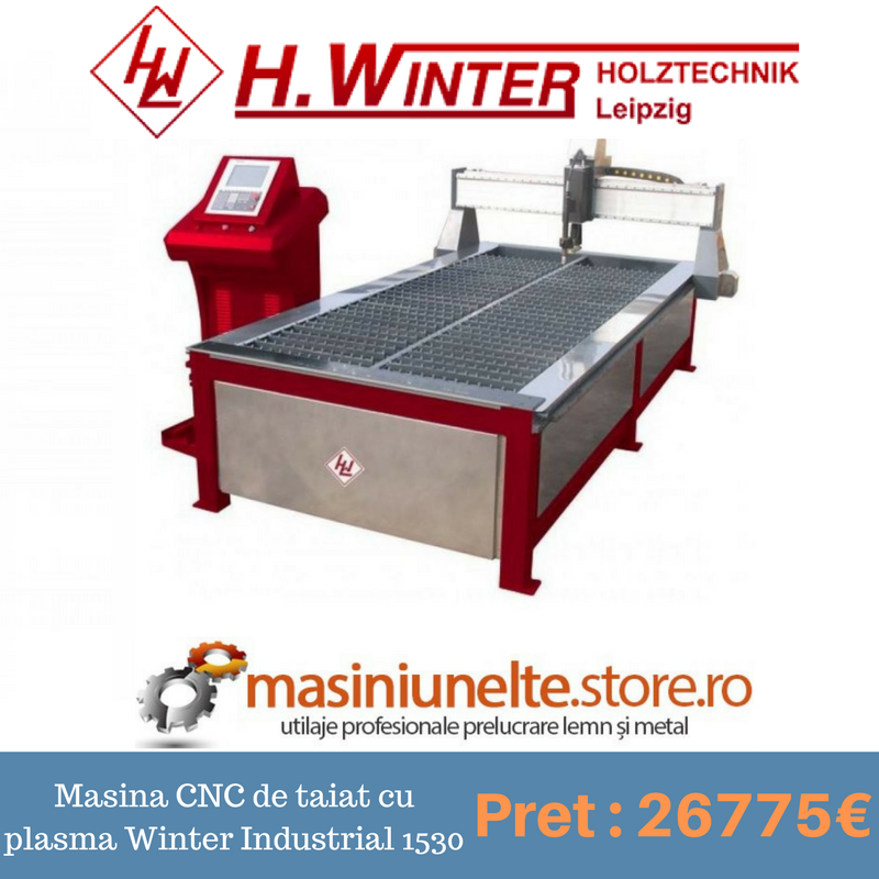 Masina CNC de taiat cu plasma Winter Industrial
